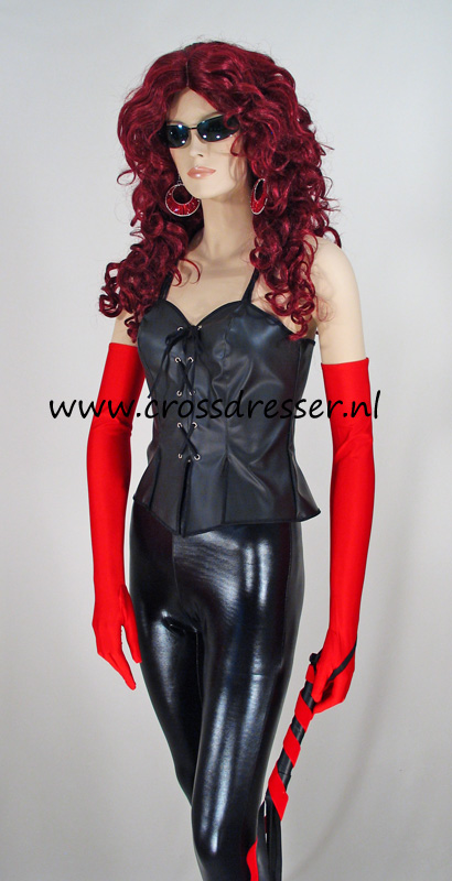 Leather Mistress Domina Costume Uniform By Crossdresser Nl