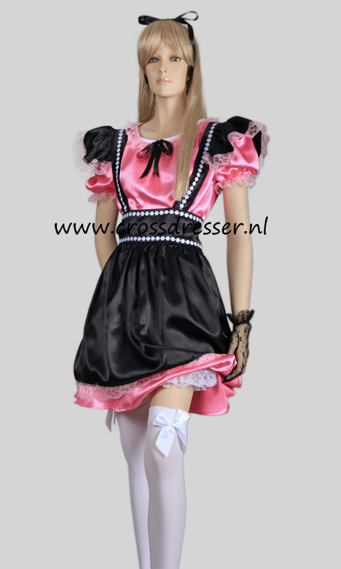 Fantasy French Maid Costume / Uniform from the Sexy French Maids Collection, Original designs by Crossdresser.nl