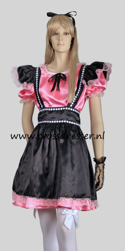 Fantasy French Maid Costume, from our Sexy French Maids Collection, Original designs by Crossdresser.nl - photo 2.