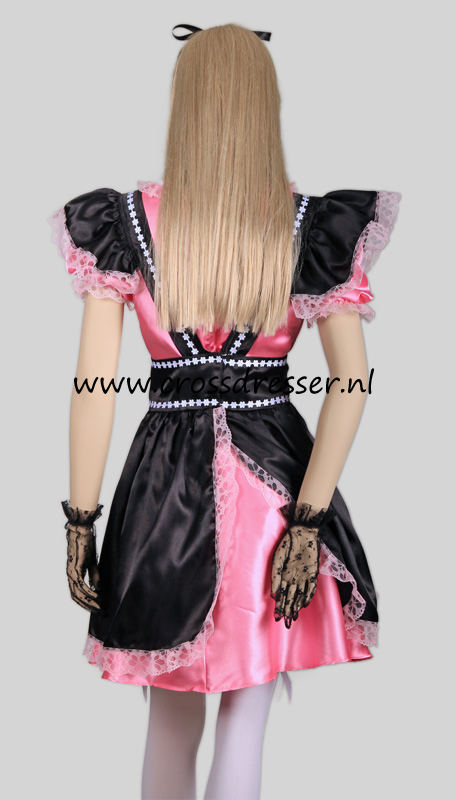 Fantasy French Maid Costume, from our Sexy French Maids Collection, Original designs by Crossdresser.nl - photo 5.
