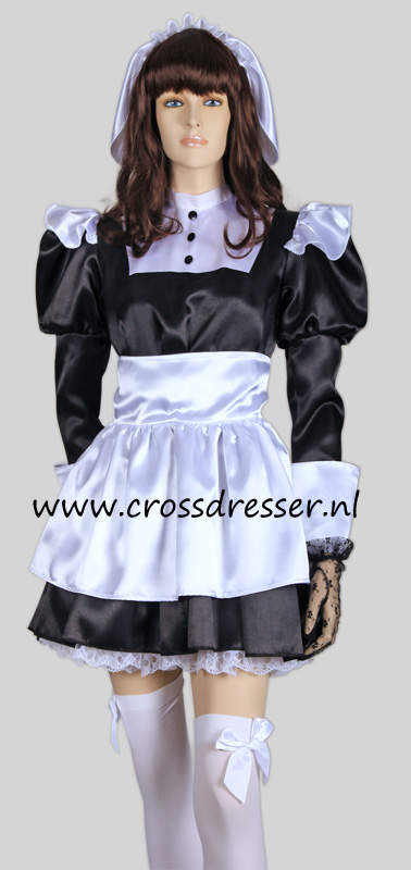 Florence Nightingale French Maid Costume, from our Sexy French Maids Collection, Original designs by Crossdresser.nl - photo 1.