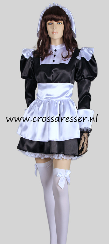 Florence Nightingale French Maid Costume, from our Sexy French Maids Collection, Original designs by Crossdresser.nl - photo 3.