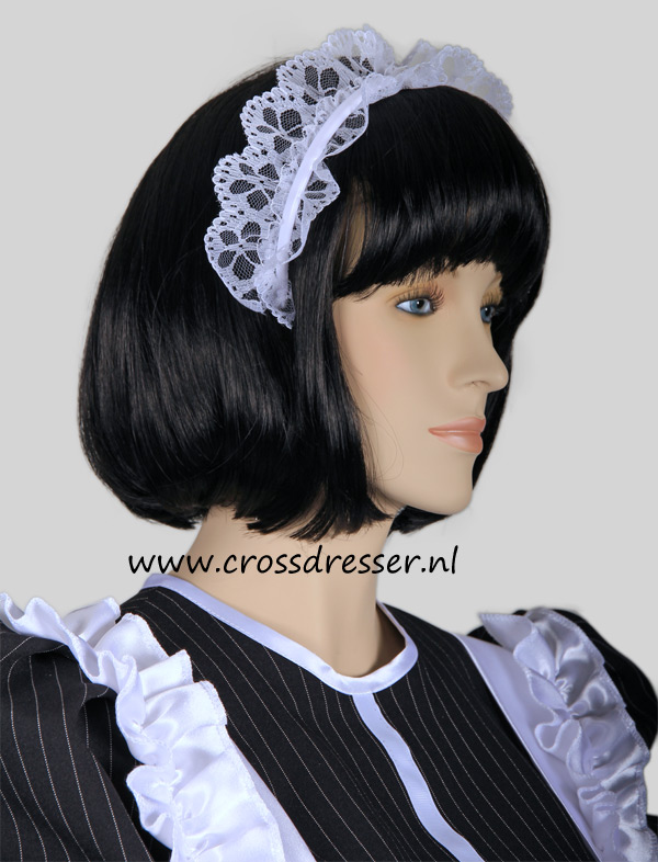 Super Sexy French Maid Costume /  Uniform, from our Sexy French Maids Collection, Original designs by Crossdresser.nl - photo 12.
