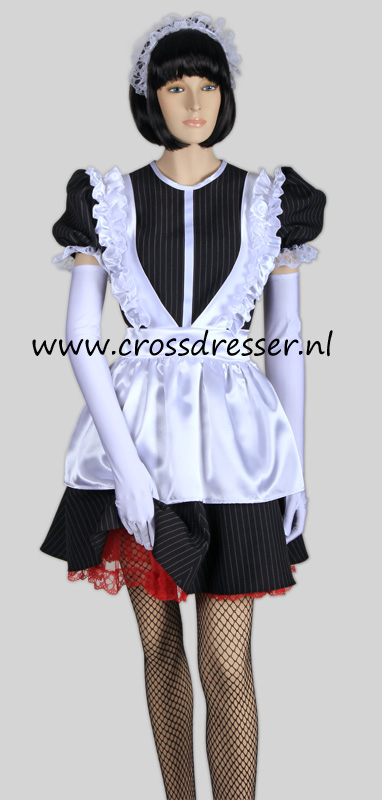 Super Sexy French Maid Costume /  Uniform, from our Sexy French Maids Collection, Original designs by Crossdresser.nl - photo 13.