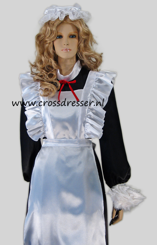 Victorian French Maid Costume / Uniform from our Sexy French Maids Collection, Original designs by Crossdresser.nl