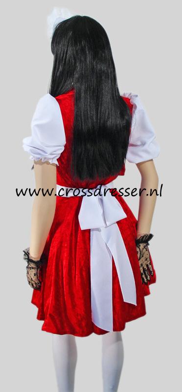 Temptress French Maid Crossdresser Costume Uniform