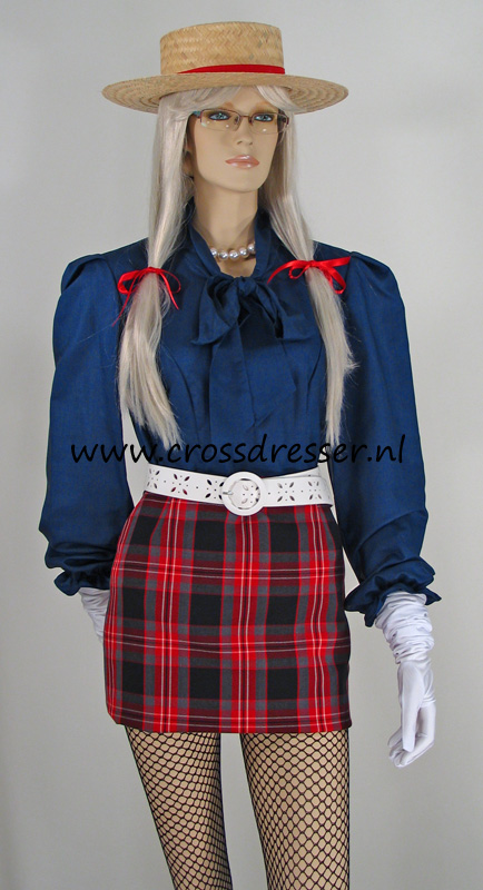 Scottish SchoolGirl Uniform from the School Girls Uniforms Collection, Original designs by Crossdresser.nl