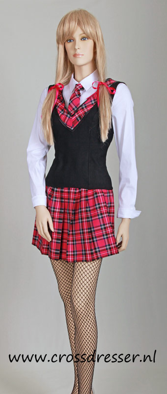 Teachers Pet Sexy School Girl Uniform / Costume - Original SchoolGirl Uniform Designs by Crossdresser.nl - photo 1.