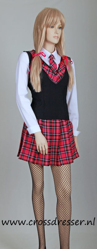 Teachers Pet Sexy School Girl Uniform / Costume - Original SchoolGirl Uniform Designs by Crossdresser.nl - photo 2.