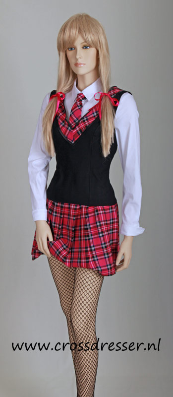 Teachers Pet Sexy School Girl Uniform / Costume - Original SchoolGirl Uniform Designs by Crossdresser.nl - photo 8.
