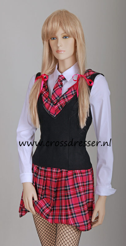 Teachers Pet SchoolGirl Uniform from the School Girls Uniforms Collection, Original designs by Crossdresser.nl