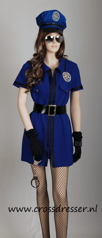 Sexy Police Woman Uniform, Original High Quality Crossdresser Design by Crossdresser.nl - photo 1.