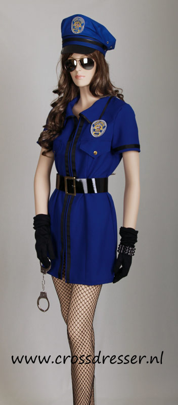 Sexy Police Woman Uniform, Original High Quality Crossdresser Design by Crossdresser.nl - photo 2.