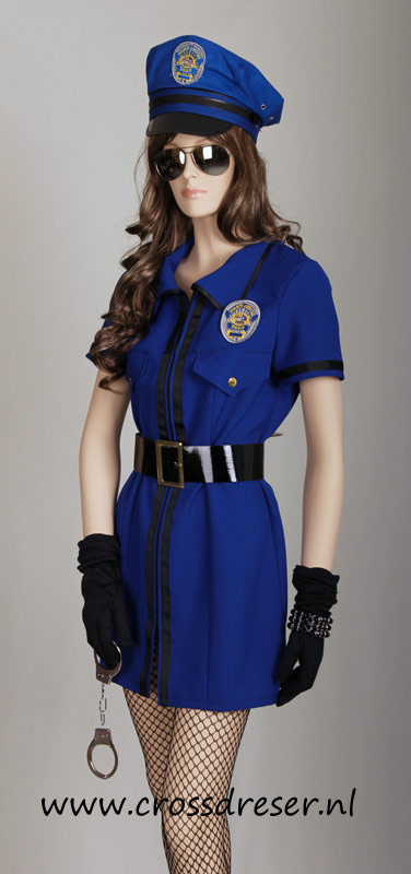 Sexy Police Woman Uniform, Original High Quality Crossdresser Design by Crossdresser.nl - photo 3.
