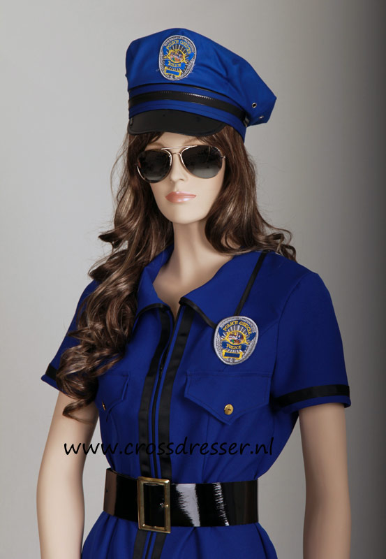 Sexy Police Woman Uniform, Original High Quality Crossdresser Design by Crossdresser.nl - photo 4.