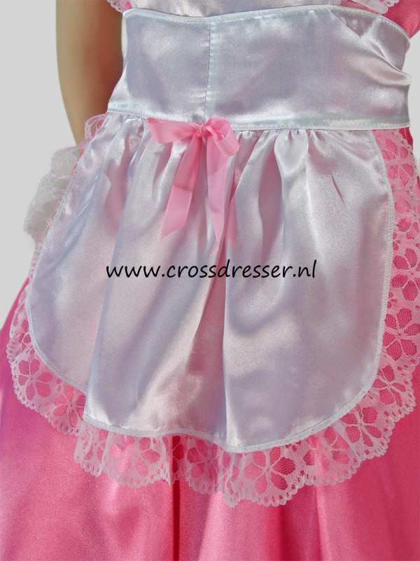 Pink Dream Sissy Maid Costume / Uniform, Original Sissy Maid Designs by Crossdresser.nl - photo 10.