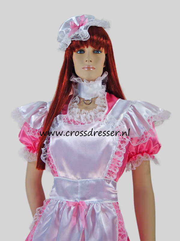 Pink Dream Sissy Maid Costume / Uniform, Original Sissy Maid Designs by Crossdresser.nl - photo 7.
