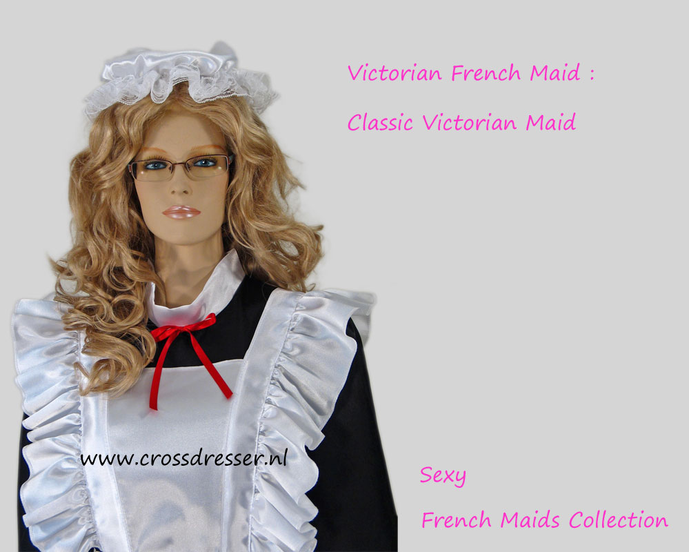 Victorian French Maid Costume - A Classic French Maid Uniform form Sexy Crossdresser French Maids Collection