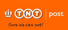 We use the services of Post nl and TNT Post, the former national post service of the Netherlands, due to the reliable services provided; postnl logo.
